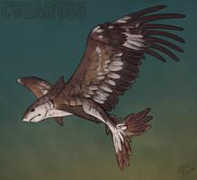 Creature challenge - Shark x Eagle by CasArtss
