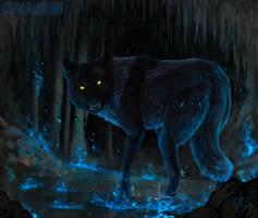 Blue hellfire by CasArtss