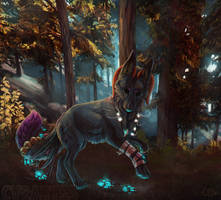 The forest by CasArtss