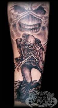 Eddie by state-of-art-tattoo