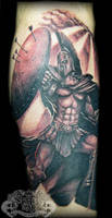 Spartan by state-of-art-tattoo
