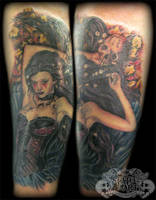 Goth Chick by state-of-art-tattoo