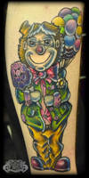 Clown by state-of-art-tattoo