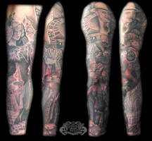 Gangster by state-of-art-tattoo