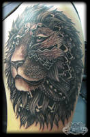 Lion by state-of-art-tattoo
