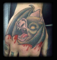 Bat by state-of-art-tattoo