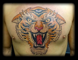 Tiger by state-of-art-tattoo