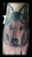 Husky by state-of-art-tattoo