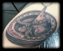 Compass by state-of-art-tattoo