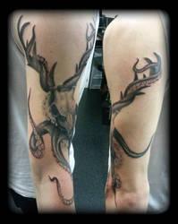 Skulltopus by state-of-art-tattoo