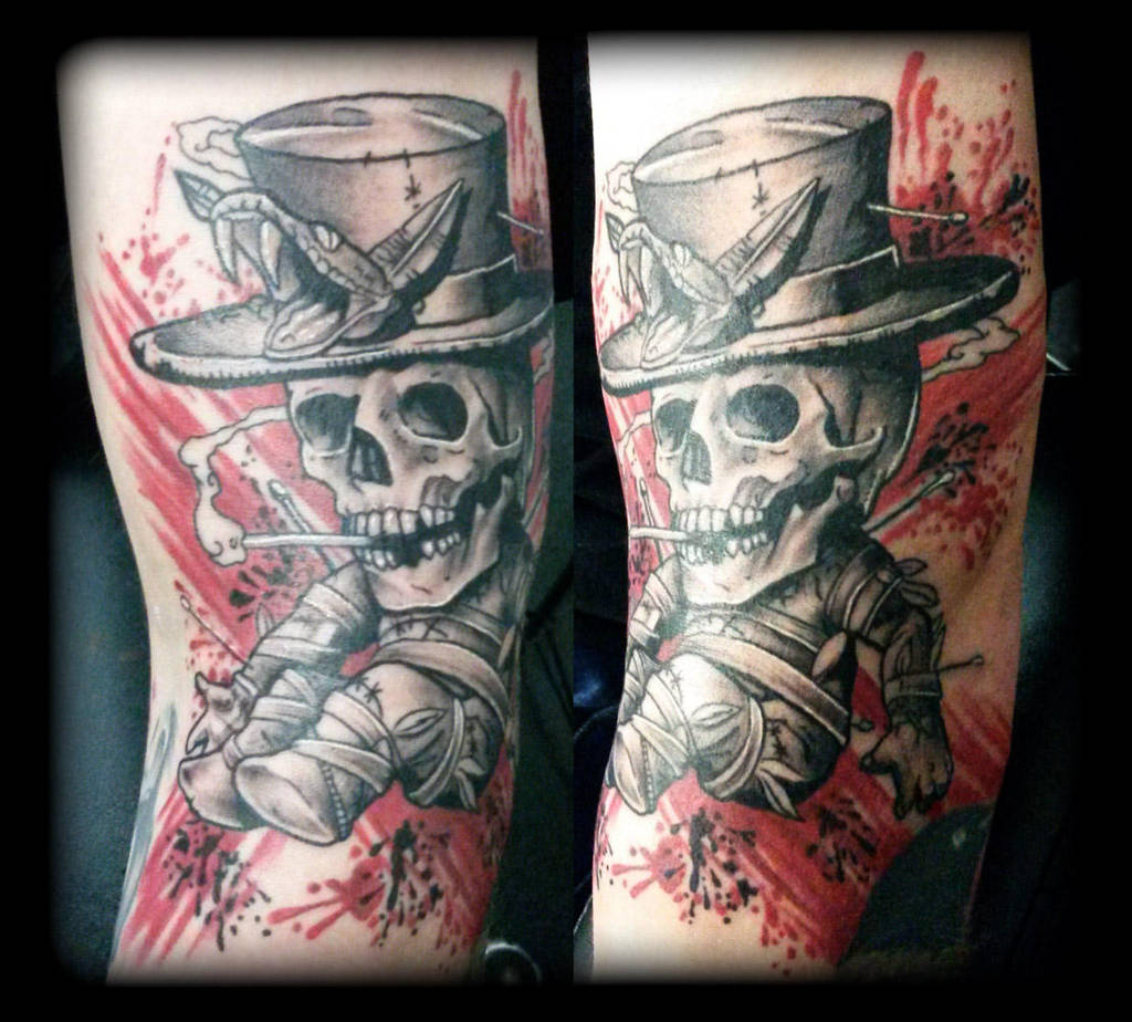 Skeleton by state-of-art-tattoo