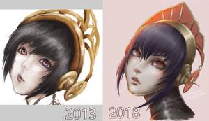 Persona 3 Metis (ART IMPROVEMENT 2013-2018) by KUMANZART
