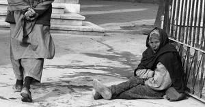 beggar woman by korzar
