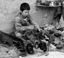 Little shoeblack by korzar