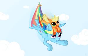 Ain't Afraid o' Flyin' by MrBastoff