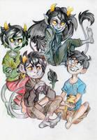 real trolls by QueenOfTheAntz