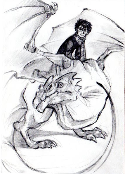 And a sudden Harry Potter by QueenOfTheAntz