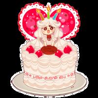Birthday Cake by ScarletDestiney