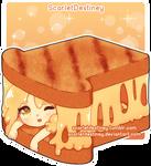 Grilled Cheese Sandwhich by ScarletDestiney