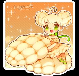 Melon Bread by ScarletDestiney