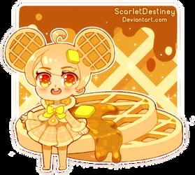 Waffle (Remake) by ScarletDestiney