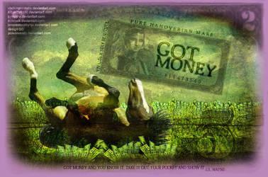 Got money by Poisonessity