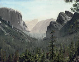 Yosemite by dragonimp
