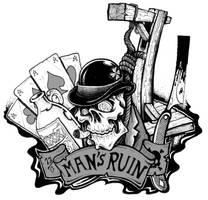 mans ruin by CRAZYGRAFIX