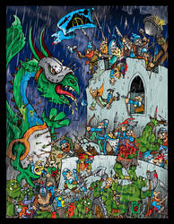 BATTLE OF HAGGARAK by CRAZYGRAFIX