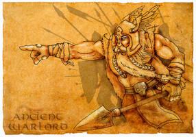 ANCIENT WARLORD by CRAZYGRAFIX