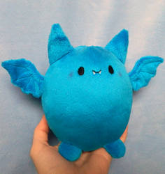 Plump Bat Plush by HobbaGobwin