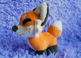 Chibi Fox Plush by HobbaGobwin