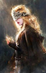 Fire Keeper-DarkSouls III by Razaras
