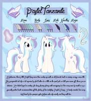 Pastel Tanzanite Ref by AmcthystPenguin