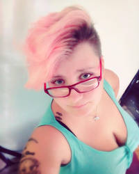 Still loving my haircut by Angi-Shy