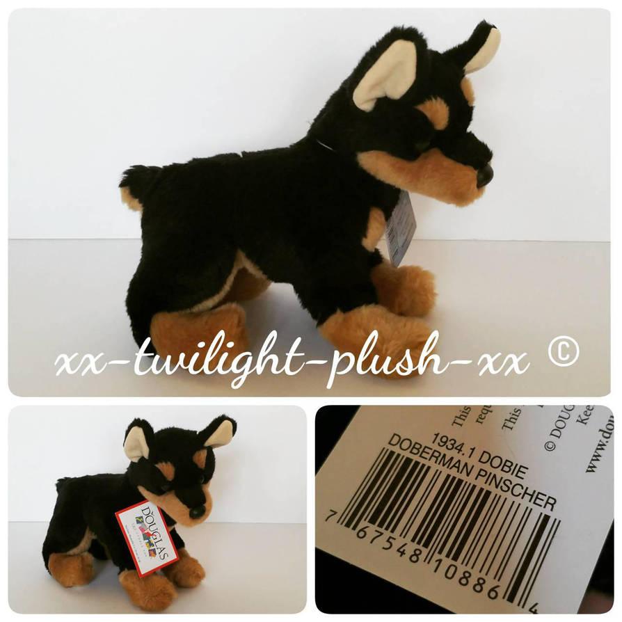 Douglas Cuddle Toys Dobie Doberman Pinscher Plush By Xx Twilight