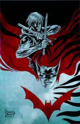 Batwoman/ Night Wing by randyvaliente