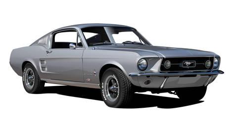 1967 FORD MUSTANG 390 GTA by Drogobroadband