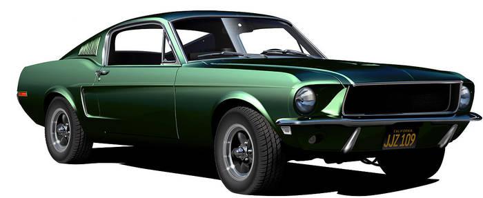1968 Mustang GT 390 Bullitt by Drogobroadband