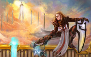 Guarding the High Heavens by BasakTinli