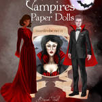 Vampires Paper Dolls: Wardrobe No: 11 by BasakTinli