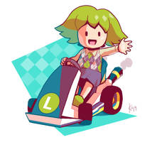 Lime Kart by do-po