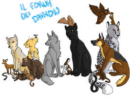 The daemon forum by Saphiry