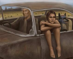 Roads of Wasteland by Voidwraith-art