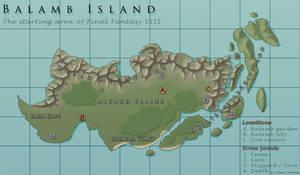 FF8 - Balamb Island by CentralSky