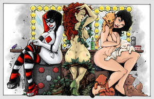 Gotham Sirens by Lazaer