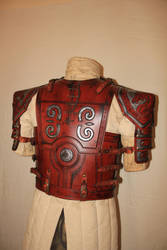 Eomer - Lord of ther Rings - body armor back by HamraBDG