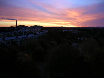 My sky...my window by faktorslayer