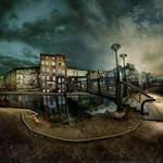 Wenecja - the island windmiil by Alcove