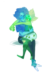 {LAPIDOT}Feeling as good as lovers can{speedpaint} by KitsuneZakuro